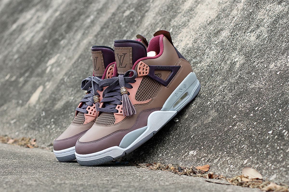"Sneakers Air Jordan 4 ""DON"" Customs – GOOD GARBS"