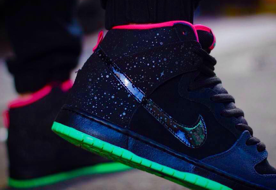 "super popular f224d 9340b Fashion| Nike SB x Premier ""Northern Lights"" Dunk High ..."