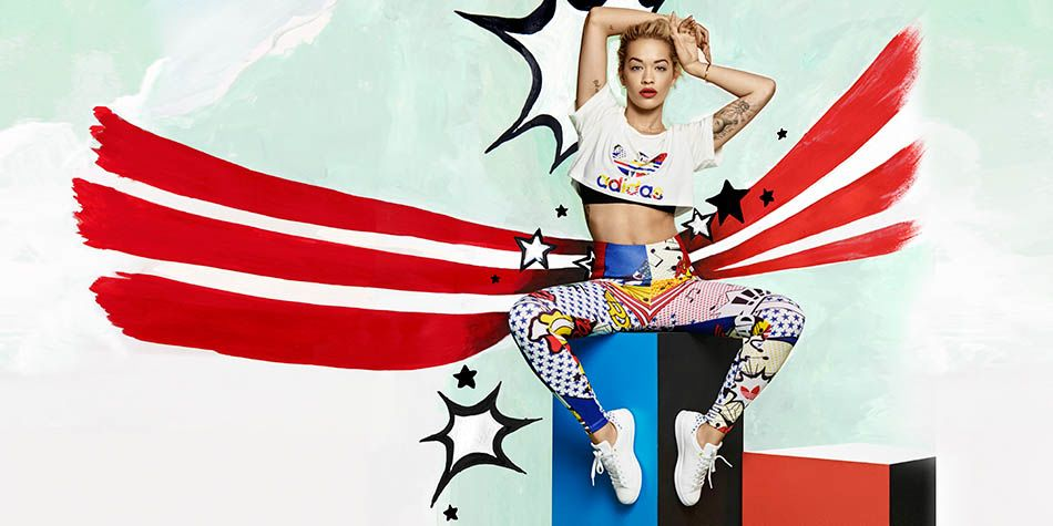 "brand new 493ab fa248 Fashion  adidas Originals by Rita Ora Spring Summer 2015 ""Super"" Pack"