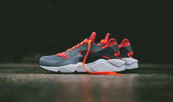 """pretty nice 2bab2 2e702 Footwear Nike Air Huarache """"Cool GreyBright Crimson"""" · March 13, 2015  Garbs"""