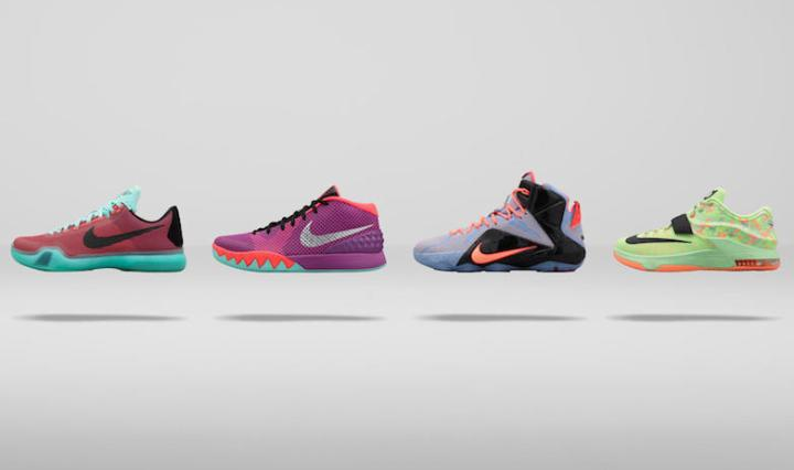 designer fashion 1db62 f63ae Footwear  Nike Basketball 2015 Easter Collection