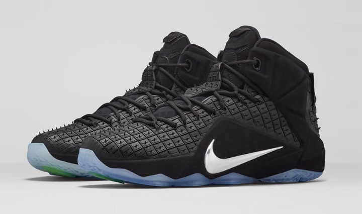 "pretty nice efcac 01b4d Footwear  Nike LeBron 12 EXT ""Rubber City"""