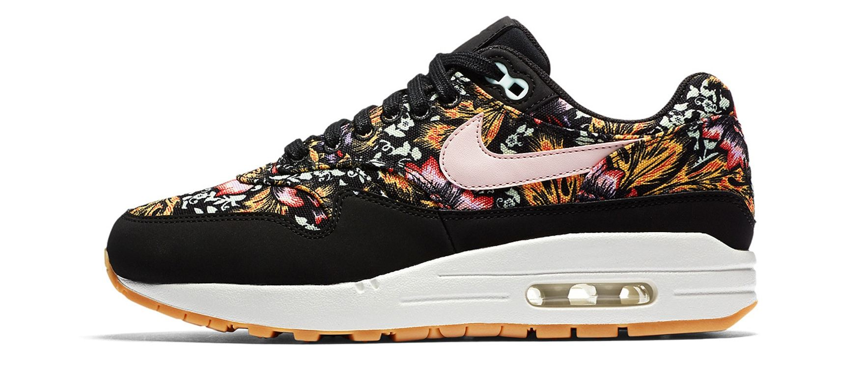 new style 91d3a 78fdd Footwear Nike Gets Spring Fever With New Air Max 1 Floral Makeover